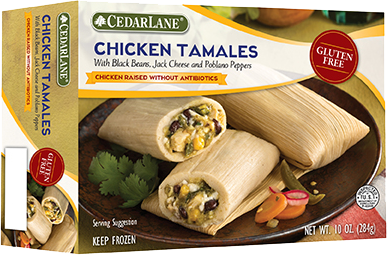 Gluten Free Tamales Award Winning Low Fat Frozen Entrees